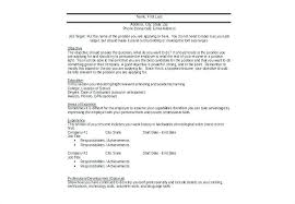 targeted resume sample target resume example targeted resume template target resume samples