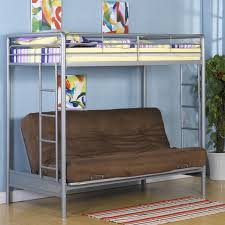 futon bedroom loft beds for teens with decorative bedding and pillows full size bunk futon on