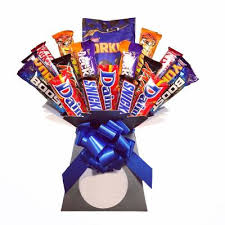 the blokes chocolate bouquet