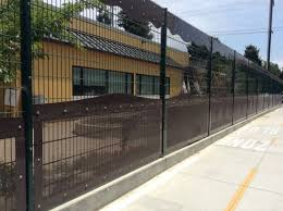 aluminum perforated fence ametco