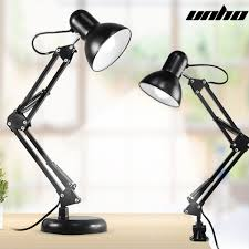 image is loading super bright swing arm desk lamp clamp on