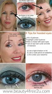 8 tips how to apply eyeshadow on hooded eyes makeup over 40