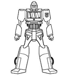 Small Picture Printable Robot Coloring Pages Coloring Me