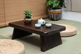 Japanese Antique Tea Table Rectangle 60*35cm Paulownia Wood Traditional  Asian Furniture Living Room Low Dinner Floor Table-in Coffee Tables from  Furniture ...