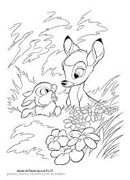 Disegno Bambi Az Colorare