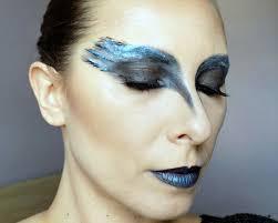 makeup look black swan