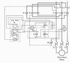 jogging control circuits 2 a wiring diagram of a for ward reverse jogging circuit