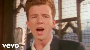 Rick Astley Would Never Pie Chart Rick Astley Never Gonna Give You Up Video