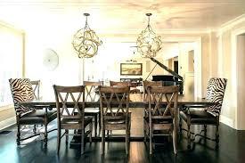 rectangular dining room light. Chandelier Over Dining Table Height Room Marvelous Art Rectangular Light