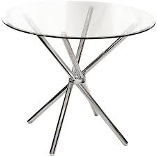 round glass top 88cm dining table febland criss cross tempered round glass table topper