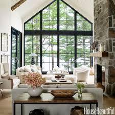 Lake Cabin Decorating Home Tour Anne Hepfers Rustic Modern Lake House Modern Rustic