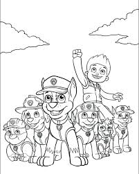 Paw Patrol Coloring Pages Paw Patrol Coloring Pages Spy Chase Rai