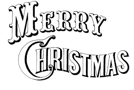 fancy merry christmas clip art words.  Merry Christmas Clipart Black And White Simple Words Intended For Merry  Throughout Fancy Clip Art