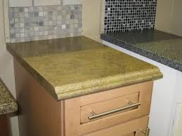 laminate countertop option with full ogee edge