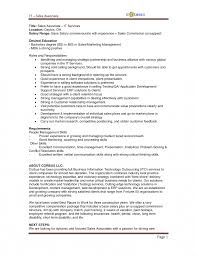 Sales Associate Job Description Resume Picture Studiootb