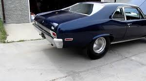 Chevy Nova ss 1969 - new magnaflow mufflers :) - YouTube