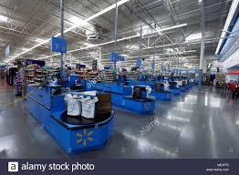 Portland Oregon Usa April 9 2018 Walmart Store