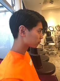 前髪長めのおしゃれな2ブロック おすすめメンズヘアです
