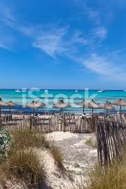 beautiful beach of es trenc