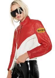 vintage bates racing leather jacket