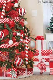 Black White And Red Christmas Tree  ChemineewebsiteRed Silver And White Christmas Tree