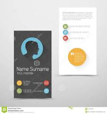 Simple Business Card Template Word Modern Vertical Business Card Template With Flat User