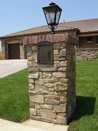 Decorative Mail Boxes Column mount mailboxes locking decorative Many styles are great 64