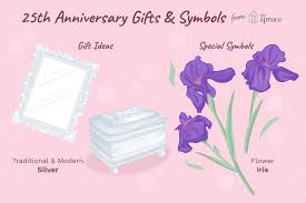 wedding wedding anniversary milestone presents outstanding silver gift traditions and customs for 25th wedding anniversaries