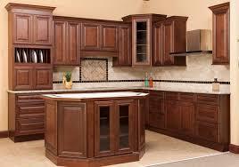 charleston saddle brown kitchen rta or fully assembled