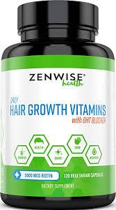 Hair Growth Vitamins Supplement - 5000 mcg Biotin ... - Amazon.com