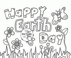 Fresh Happy Earth Day Coloring Page For Kids Coloring Pages