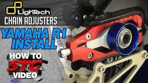 How to install Lightech <b>Chain Adjusters</b> from SportbikeTrackGear.com