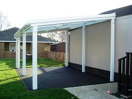 free standing lean to patio cover. Brilliant Patio 5m Powder Coated Aluminium Free Standing Canopy Lean To Patio Cover  Carport For To Cover Kaliman Rawlins