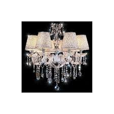 clear crystal chandelier 6 arms