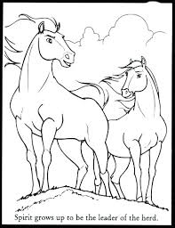 Coloring Pics Of Horses Uticureinfo