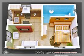 amazing one bedroom flat design ideas 7 small house plan 3d home
