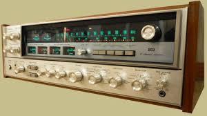 vintage sansui receiver. sansui qrx-5500 vintage receiver