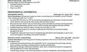 Housekeeping Skills For Resume Housekeeper Resume Sample Inspiration Housekeeping Resume Skills