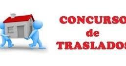 Resultado de imagen de MODIFICACIÓN CONCURSO DE TRASLADOS