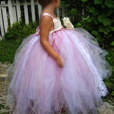 tulle flower girl dresses diy