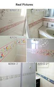 can you apply tile stickers to drywall fashion self adhesive baseboard waterproof bathroom waistline border