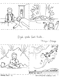 Coloring Pages : Elijah Coloring Page 17 Prays For The Widows Son ...