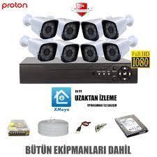 8 Li Güvenlik Kamera Seti | Güvenlik Kamerası | Güvenlik Kamera Seti