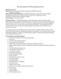 Medical Office Billing Manager Job Description Medical Billing Representative Danexlogistics Com