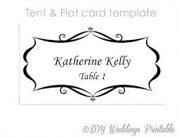 Printable Wedding Place Card Template Free Zbiztro Com