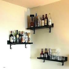 corner bar shelf floating shelves live edge free us wall mini wall shelves mini wall