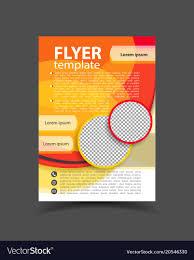 Design Brochure Template Brochure Design Flyer Template Editable A4