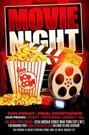 Free Movie Night Flyer Templates Pin By Julius12 On Design Flyer Template Movie Night For