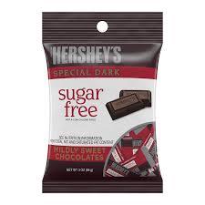 hershey s sugar free special dark