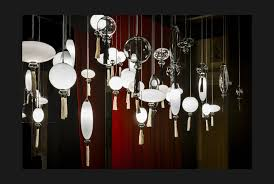 calliope bespoke pendants and lights made from hand blown murano glass designed by marcel wanders